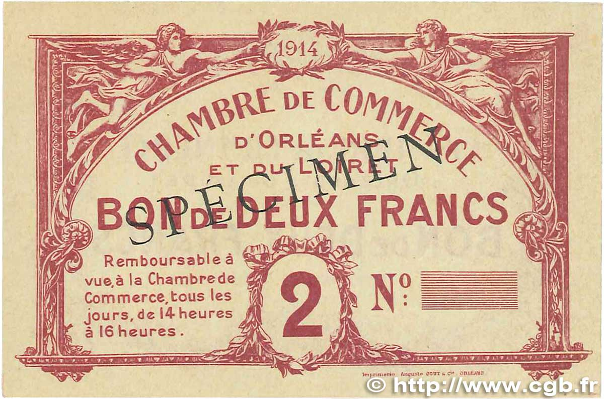 2 francs france r gionalisme et divers orl ans 1914 for Chambre de commerce orleans