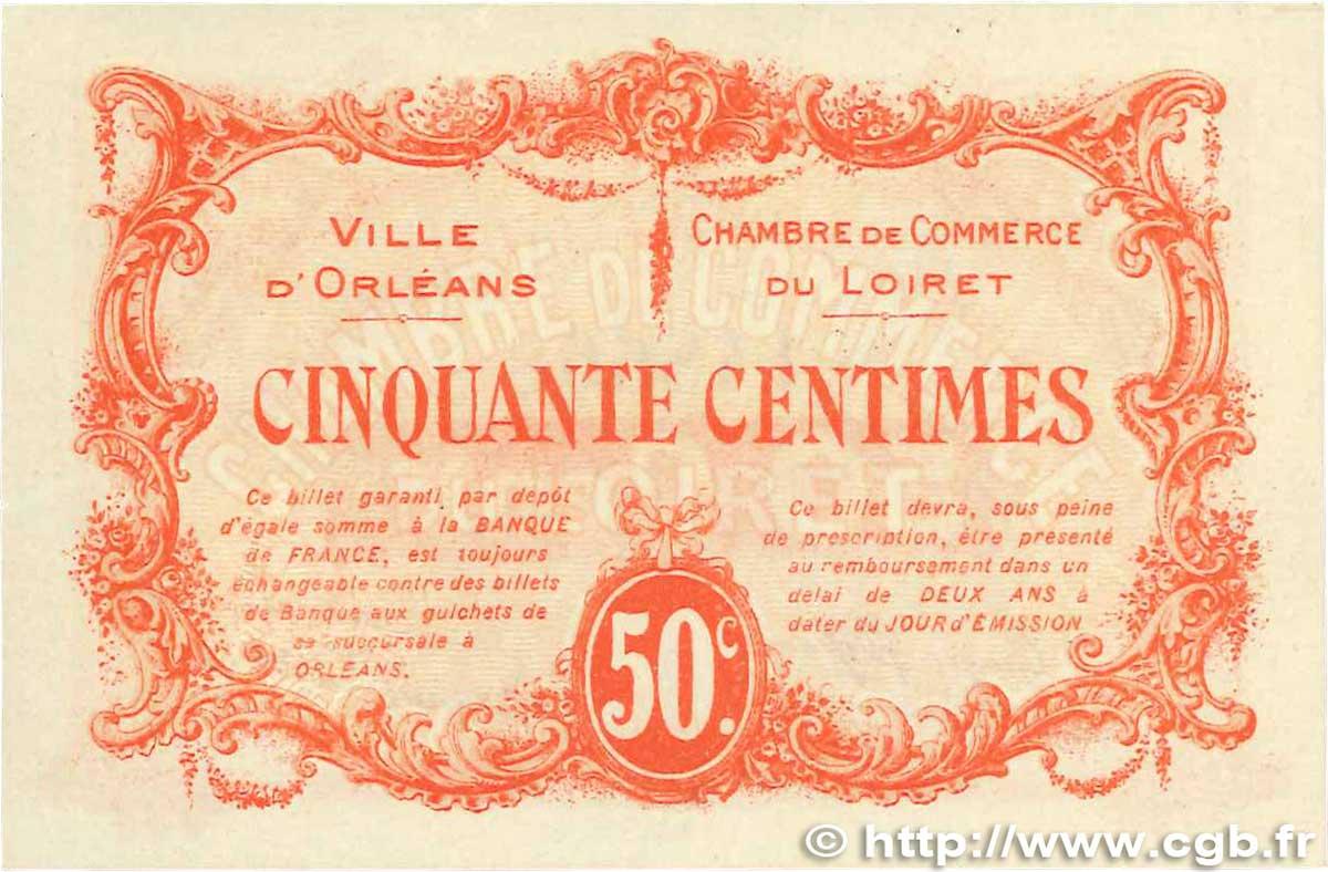 50 centimes france r gionalisme et divers orl ans 1915 sup b99 1258 billets. Black Bedroom Furniture Sets. Home Design Ideas