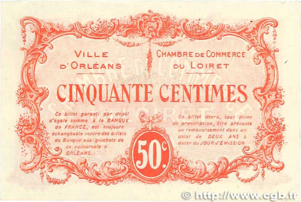 50 centimes france r gionalisme et divers orl ans 1915 ttb b99 1259 billets. Black Bedroom Furniture Sets. Home Design Ideas