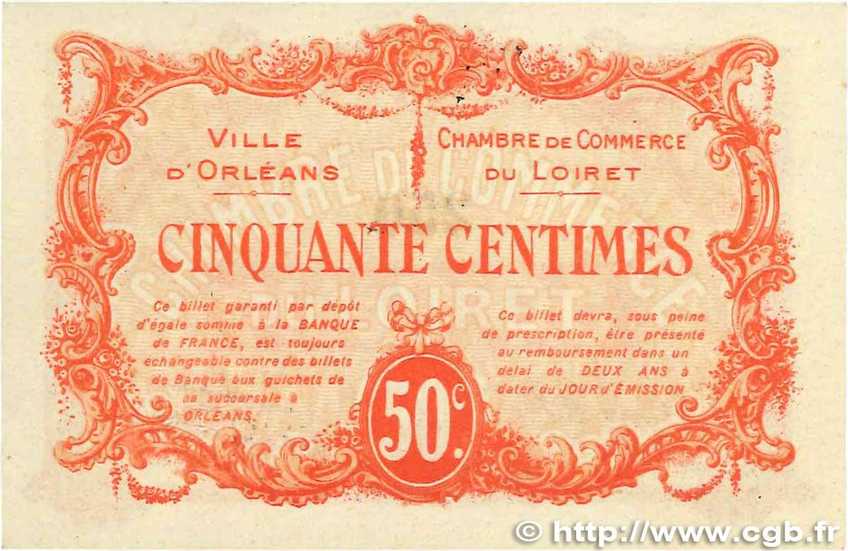 50 centimes france r gionalisme et divers orl ans 1915 spl b99 1262 billets. Black Bedroom Furniture Sets. Home Design Ideas