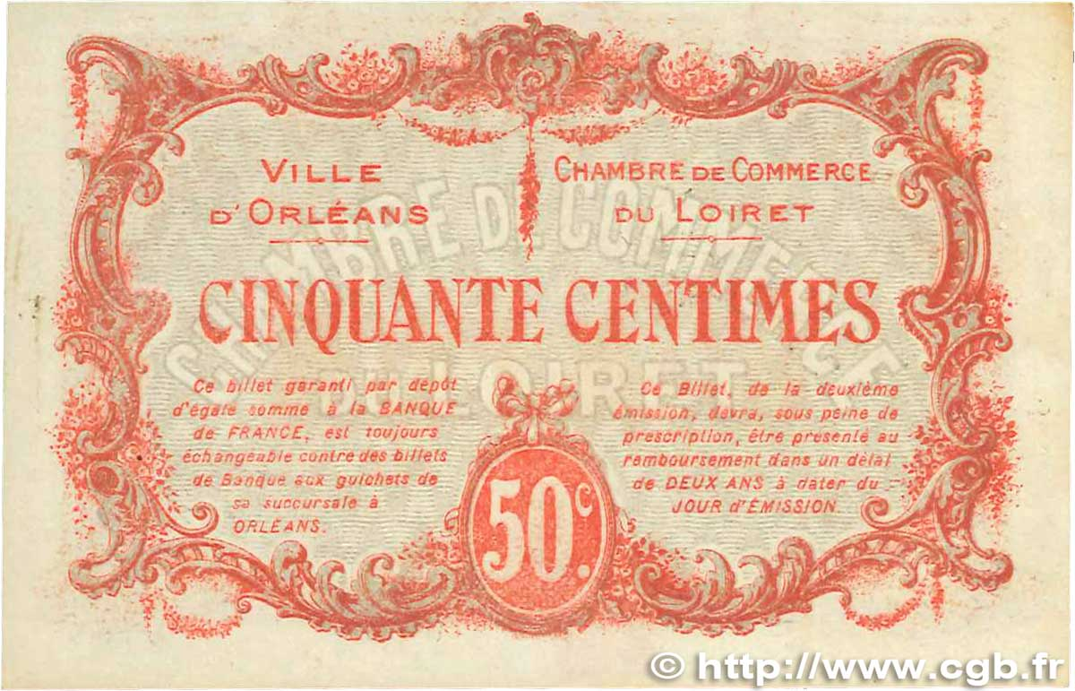 50 centimes france regionalism and various orl ans 1916 axf b99 1273 banknotes. Black Bedroom Furniture Sets. Home Design Ideas