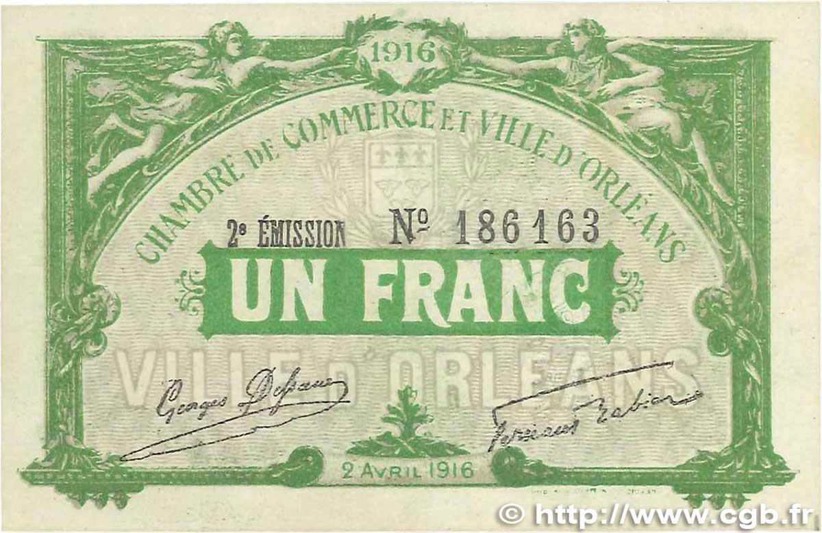 1 franc france r gionalisme et divers 1916 b99 1284 billets. Black Bedroom Furniture Sets. Home Design Ideas