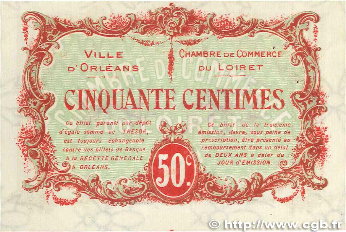 50 centimes france r gionalisme et divers orl ans 1917 ttb b99 1298 billets. Black Bedroom Furniture Sets. Home Design Ideas