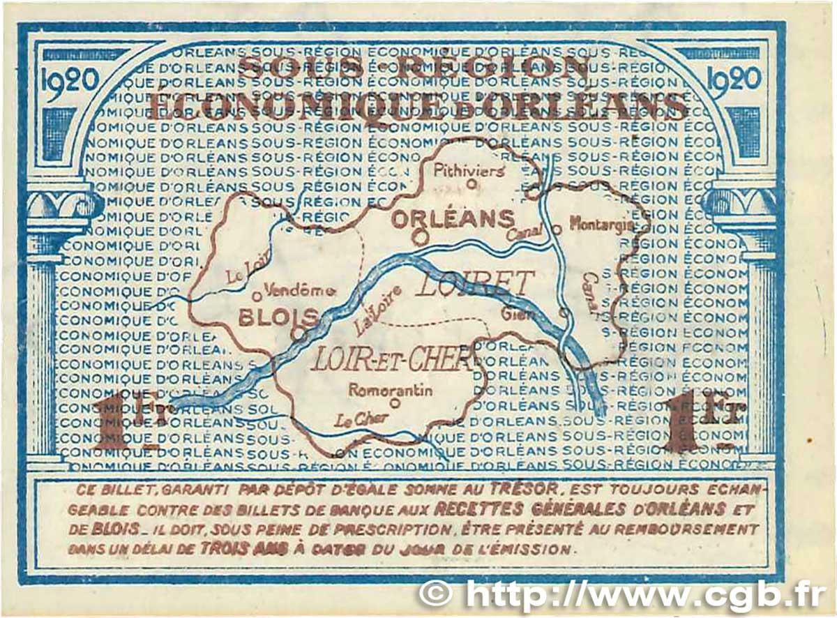 1 franc france r gionalisme et divers orl ans et blois for Chambre de commerce orleans