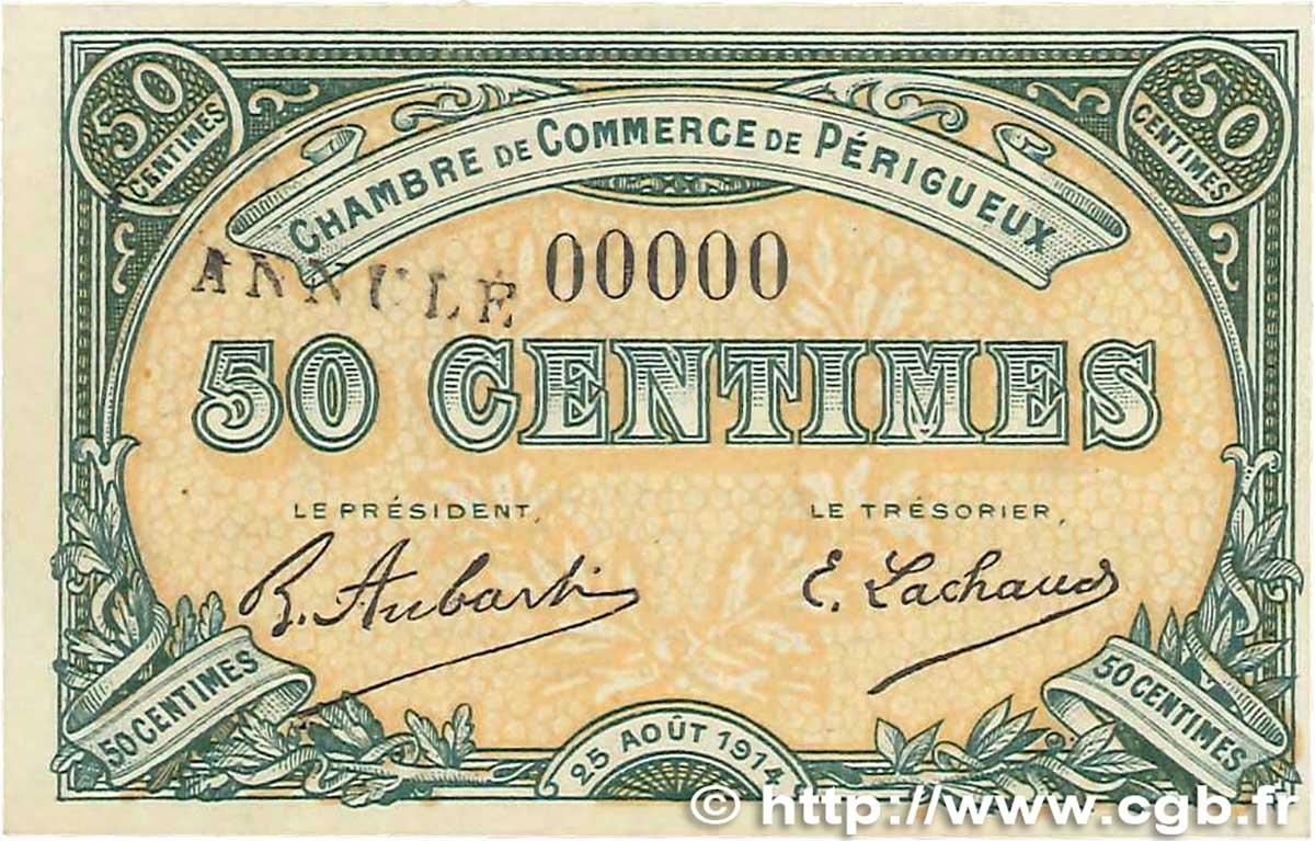 50 centimes france r gionalisme et divers p rigueux 1914 spl b99 1369 billets - Chambre de commerce perigueux ...