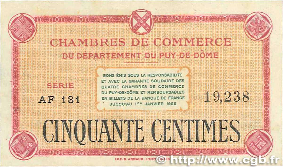 50 centimes france r gionalisme et divers puy de d me 1918 - Chambre de commerce de clermont ferrand ...