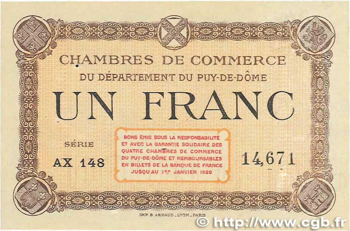 1 franc france regionalismus und verschiedenen puy de d me - Chambre de commerce de clermont ferrand ...