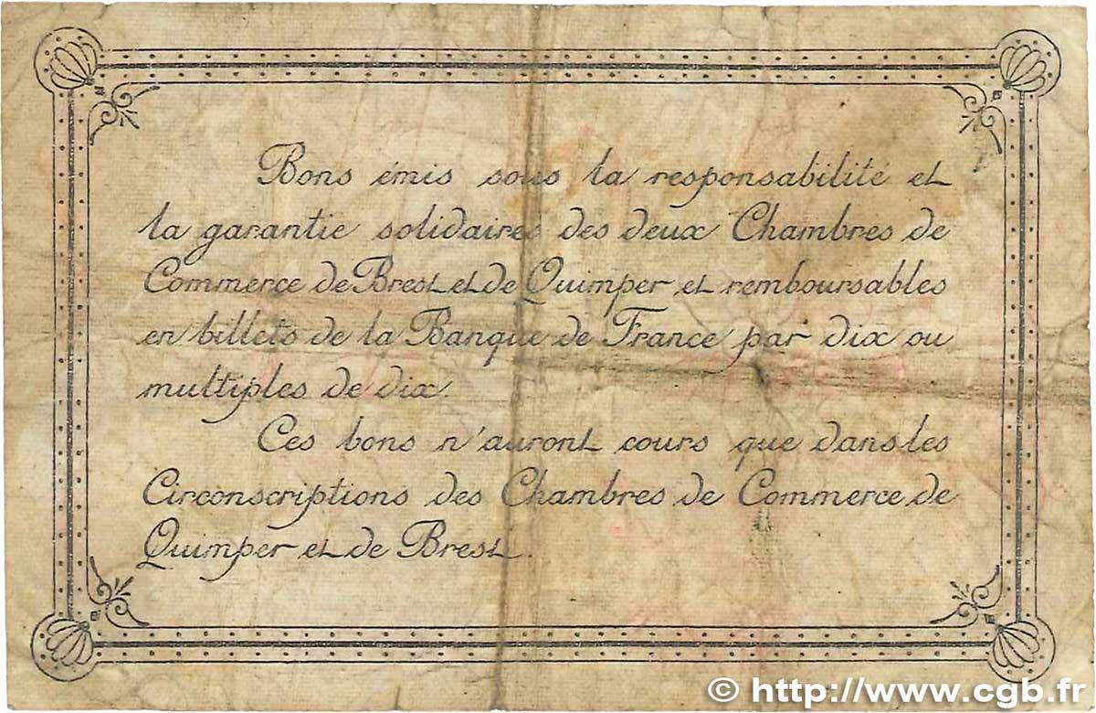 2 francs france r gionalisme et divers quimper et brest 1917 b b99 1514 billets - Chambre de commerce de brest ...