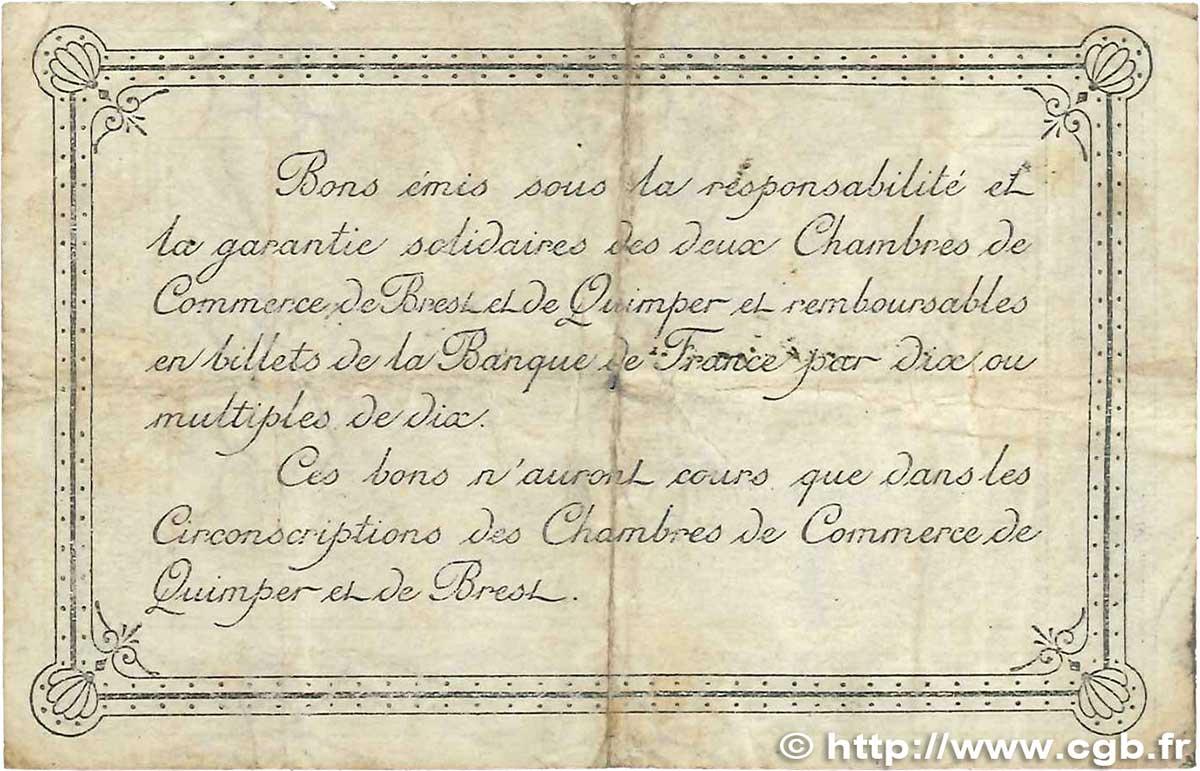 1 franc france r gionalisme et divers quimper et brest 1920 b b99 1519 billets - Chambre de commerce de brest ...