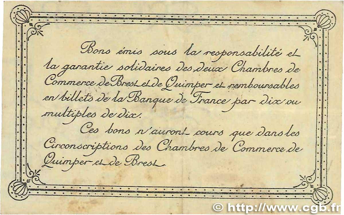 50 centimes france r gionalisme et divers quimper et brest 1921 tb b99 1523 billets - Chambre de commerce rennes ...