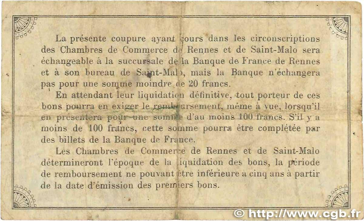 50 centimes france r gionalisme et divers rennes et saint