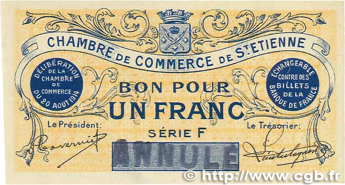 1 franc annul france r gionalisme et divers saint tienne - Chambre de commerce de saint etienne ...