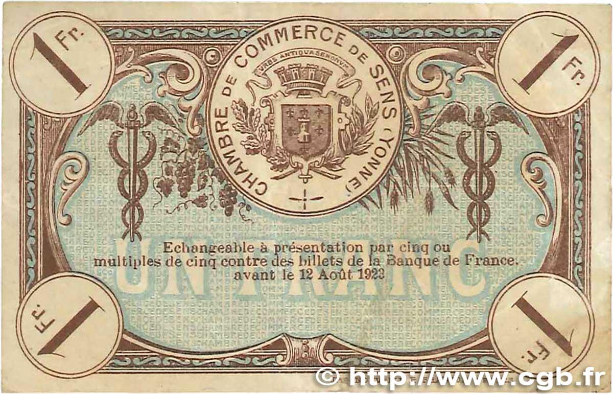 1 franc france r gionalisme et divers sens 1920 tb b99 1798 billets. Black Bedroom Furniture Sets. Home Design Ideas