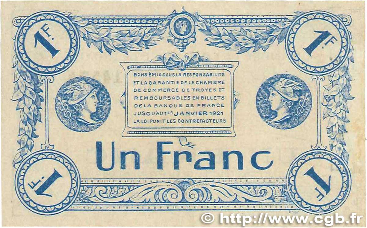 1 franc france r gionalisme et divers 1918 ttb b99 1986 billets. Black Bedroom Furniture Sets. Home Design Ideas