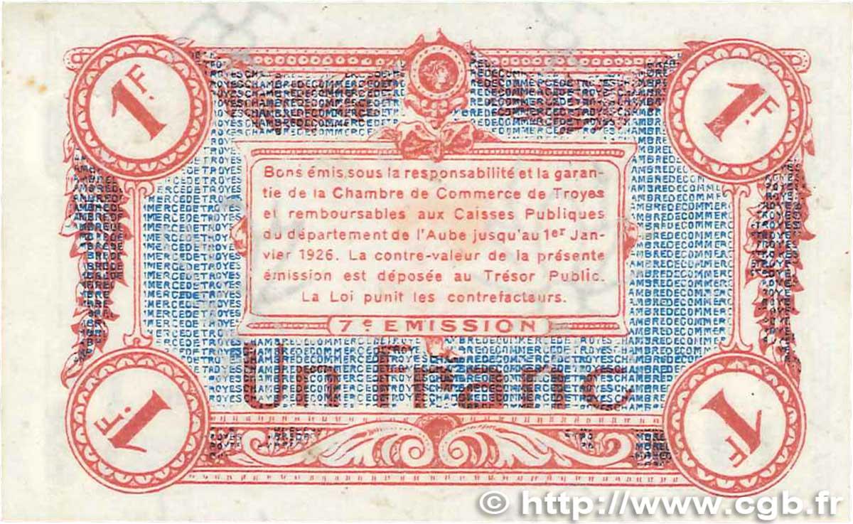 1 franc france r gionalisme et divers troyes 1918 sup b99 2021 billets. Black Bedroom Furniture Sets. Home Design Ideas