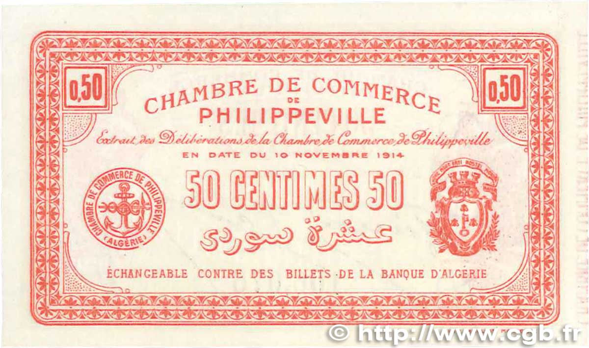50 centimes france r gionalisme et divers philippeville for Chambre de commerce francaise en algerie