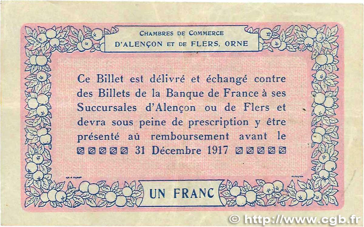 1 Franc France R 233 Gionalisme Et Divers Alencon Et Flers
