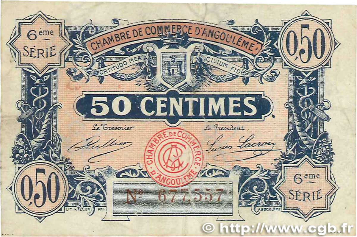 50 centimes france regionalism and various angoul me 1920