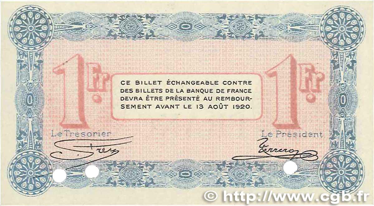 1 franc france r gionalisme et divers annecy 1915 for Chambre de commerce annecy