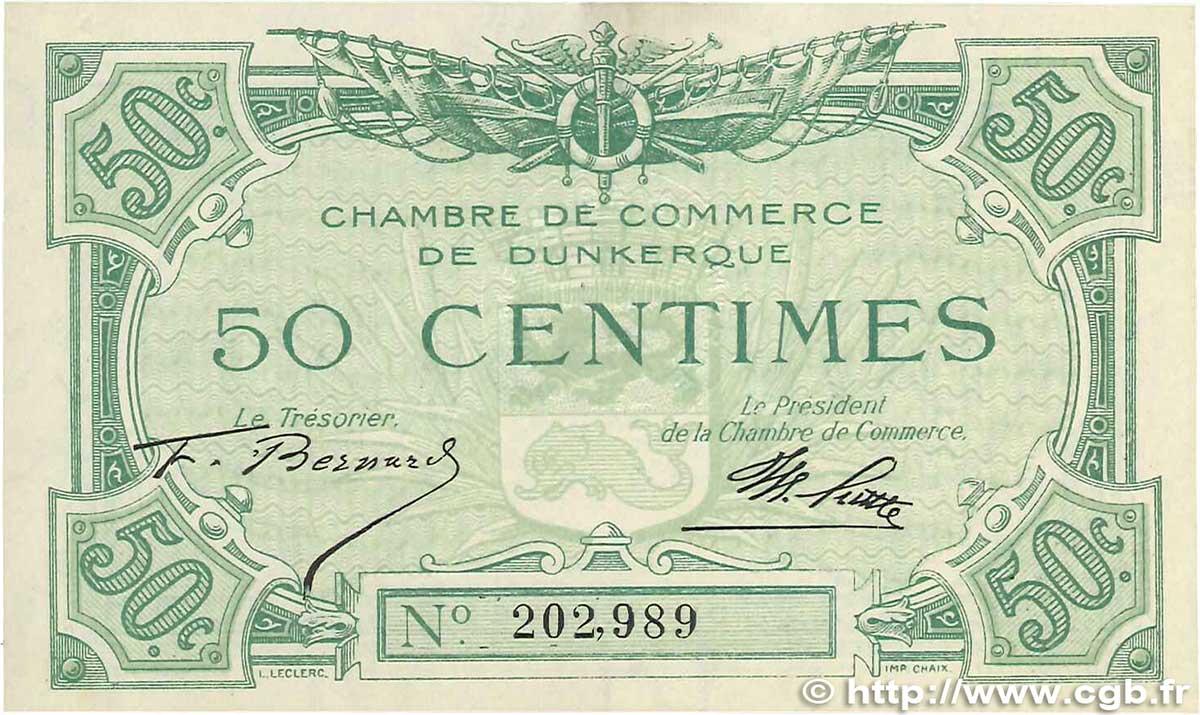 50 centimes france r gionalisme et divers dunkerque 1918 for Chambre de commerce dunkerque