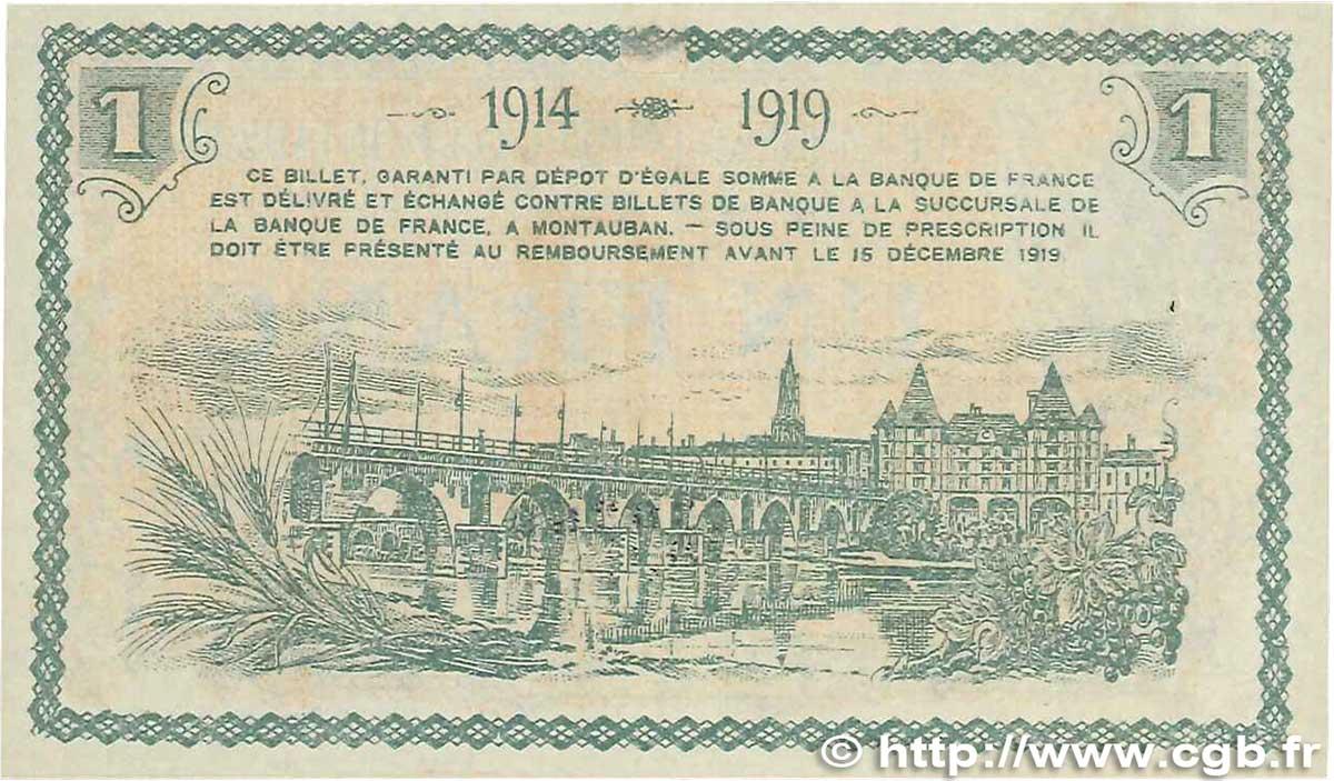 1 franc france r gionalisme et divers montauban 1914 jp for Chambre de commerce montauban