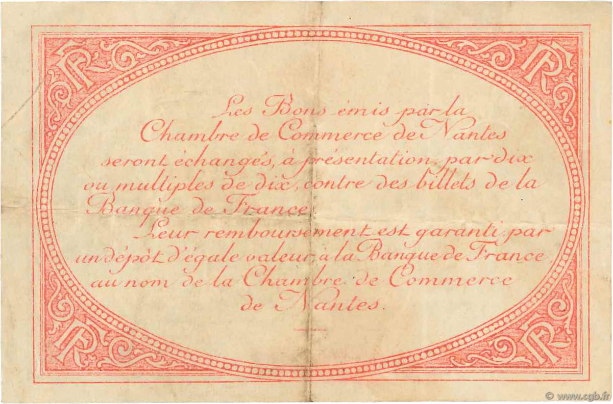 50 centimes france r gionalisme et divers nantes 1918 jp for Chambre de commerce nantes