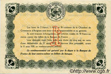 1 franc france r gionalisme et divers avignon 1915 ttb sup c018 05s billets. Black Bedroom Furniture Sets. Home Design Ideas