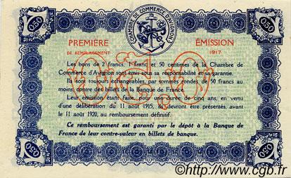 50 centimes france r gionalisme et divers avignon 1915 spl neuf c018 13n billets. Black Bedroom Furniture Sets. Home Design Ideas