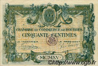 50 centimes france r gionalisme et divers bourges 1915 c032 01s billets. Black Bedroom Furniture Sets. Home Design Ideas
