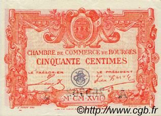 50 centimes france r gionalisme et divers bourges 1917 spl neuf c032 10n billets. Black Bedroom Furniture Sets. Home Design Ideas