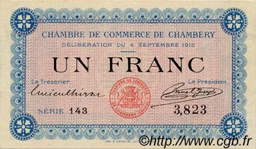 1 franc france r gionalisme et divers chamb ry 1915 c044 01n billets. Black Bedroom Furniture Sets. Home Design Ideas