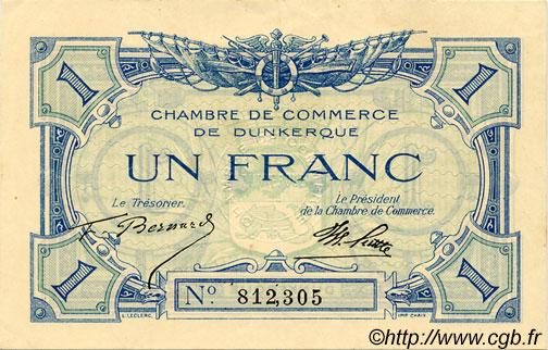 1 franc france r gionalisme et divers dunkerque 1918 jp for Chambre de commerce dunkerque