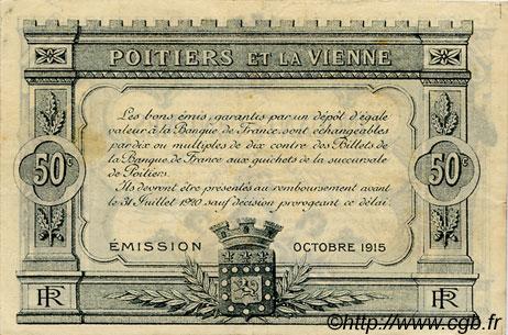 50 centimes france r gionalisme et divers poitiers 1915 jp for Poitier numero departement