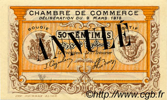 50 centimes france r gionalisme et divers bougie s tif for Chambre de commerce francaise en algerie
