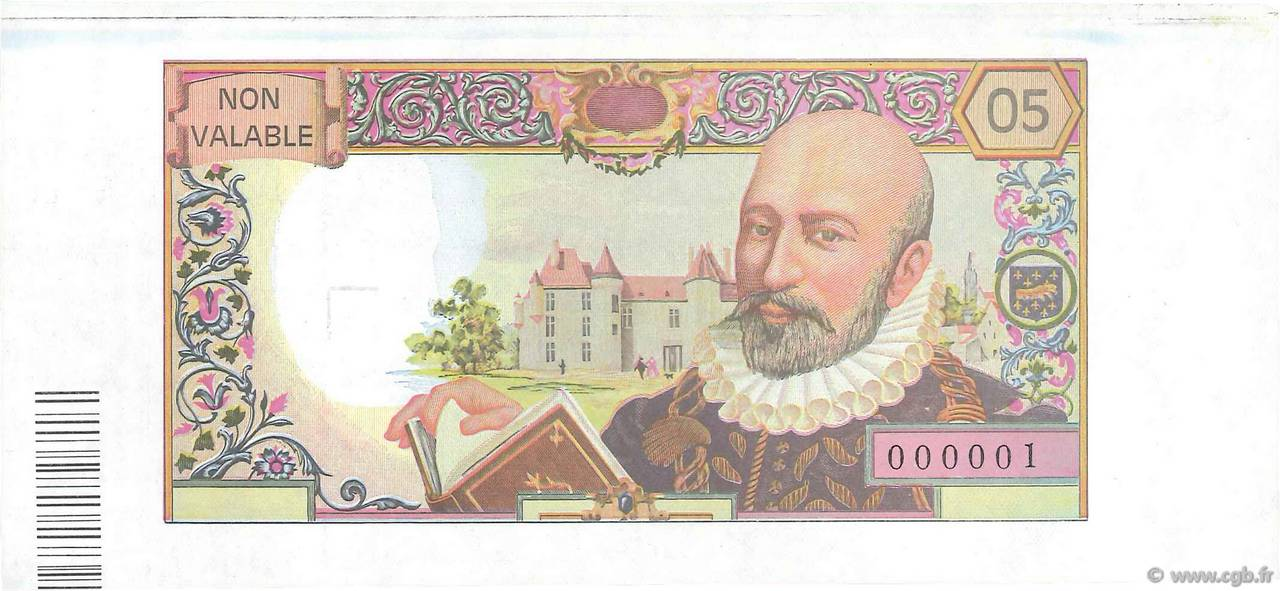 50 Francs MONTAIGNE FRANCE  1964 F.64E.01 SPL