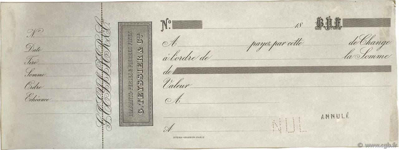 Francs FRANCE régionalisme et divers (PARIS) 1870 DOC.Lettre SUP