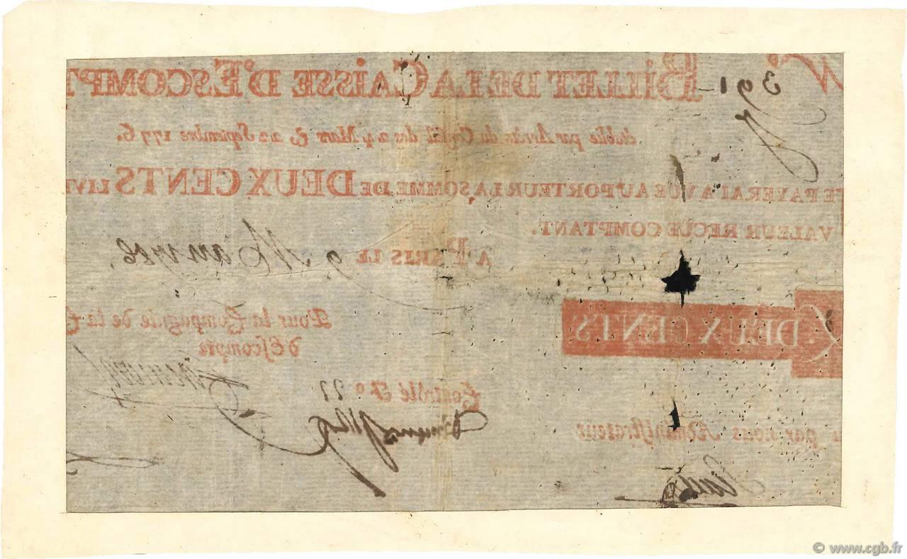 200 livres france 1786 b 4080019 billets - 200 euros en livres ...