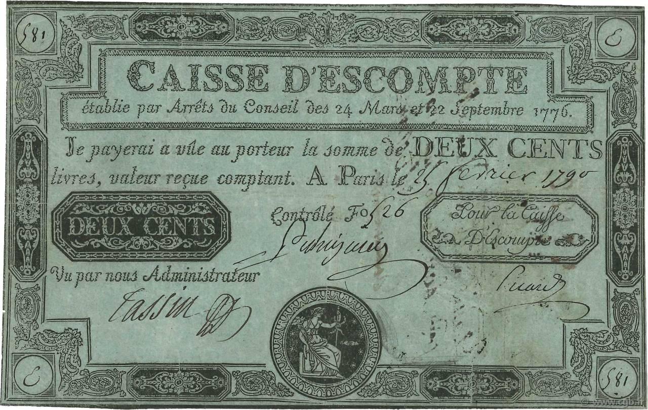 200 livres france 1789 4080021 billets - 200 euros en livres ...