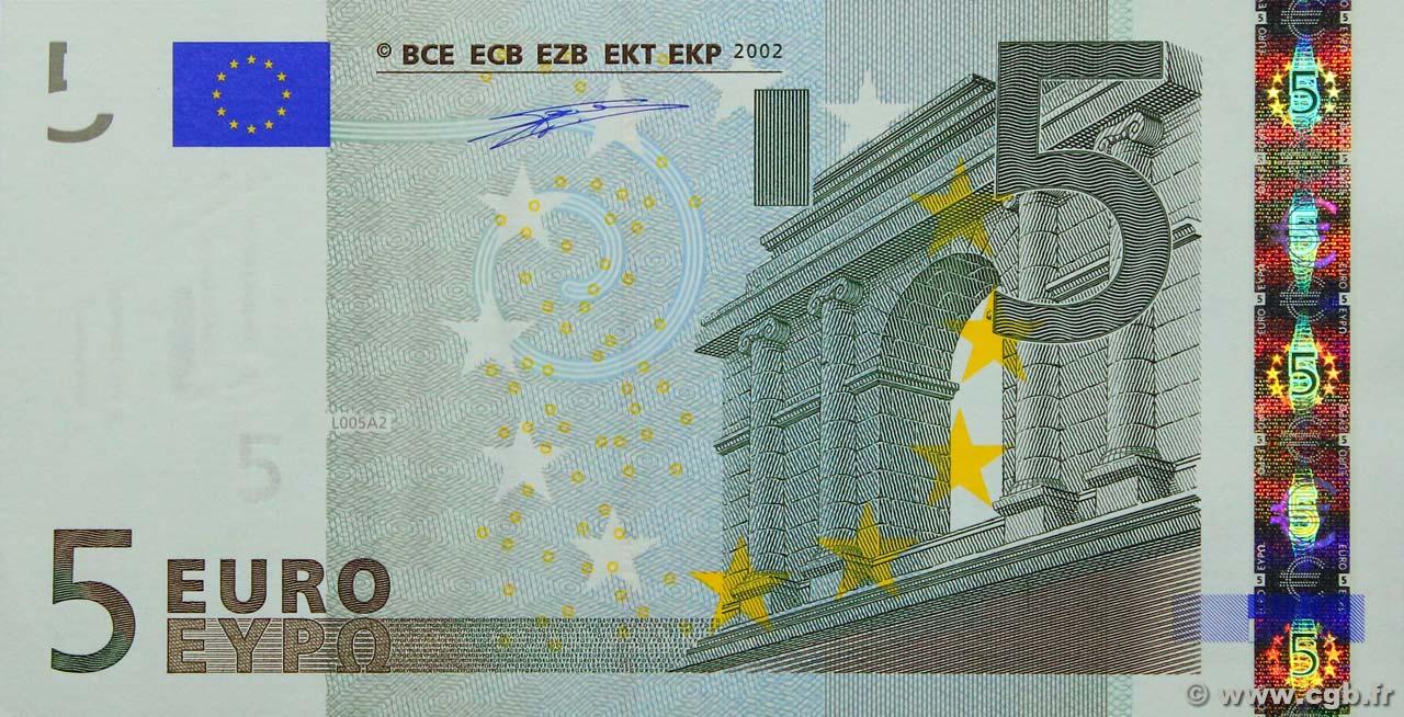 5 euro europe 2002 4170224 billets. Black Bedroom Furniture Sets. Home Design Ideas