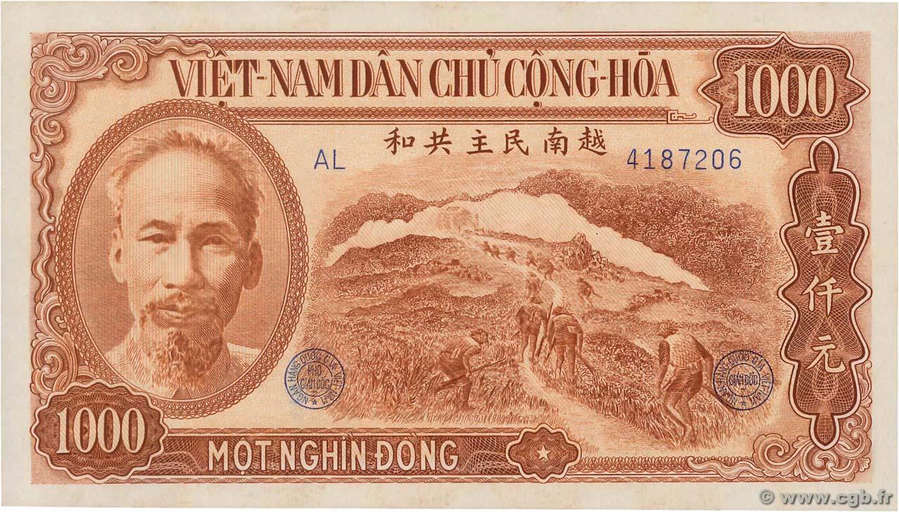 1000 Dong Vietnam 1951 P 065a 4350434 Banknotes
