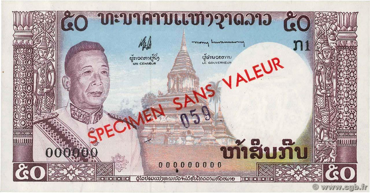ND 5 x 50 Kip P-29 1979 UNC /> Rice Fields LOT Lao // Laos
