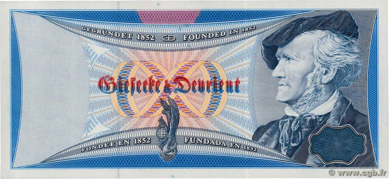 1 (Mark) Test Note GERMAN FEDERAL REPUBLIC  1988 P.- UNC