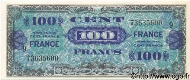 100 Francs FRANCE FRANCE  1944 VF.25.09 SPL