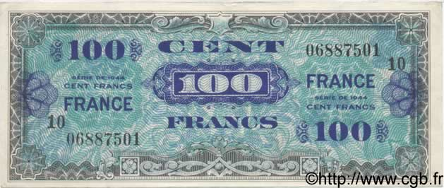 100 Francs FRANCE FRANCE  1944 VF.25.10 TTB+ à SUP