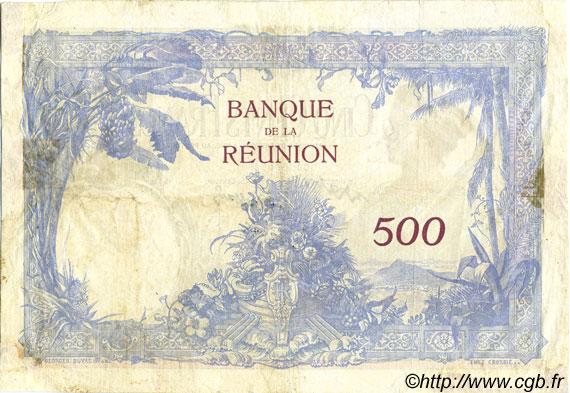 500 francs le de la r union 1944 tb p08 0049 billets. Black Bedroom Furniture Sets. Home Design Ideas