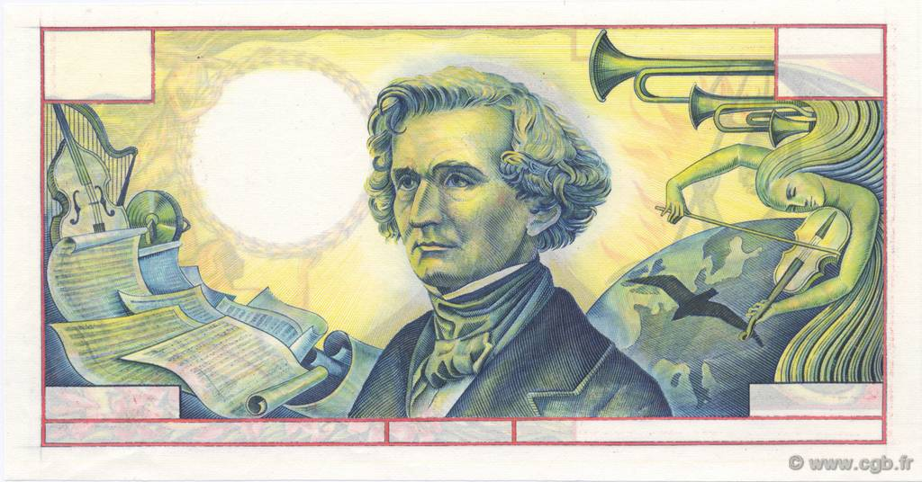 50 Francs type BERLIOZ FRANCE  1970 F.61.-- NEUF
