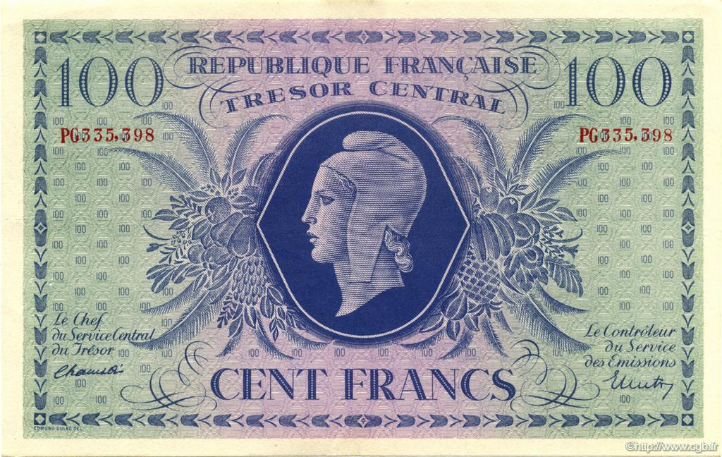 100 Francs Corse FRANCE  1943 VF.06.01a SUP+