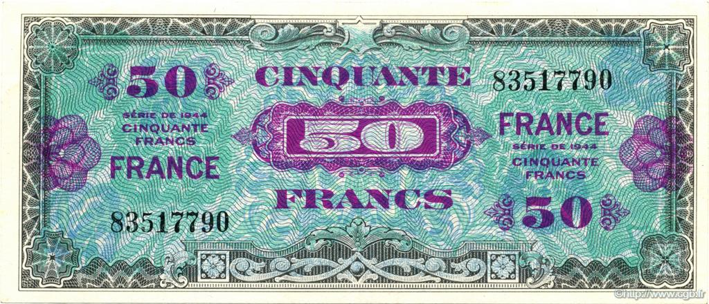 50 Francs France FRANCE  1945 VF.24.01 SPL