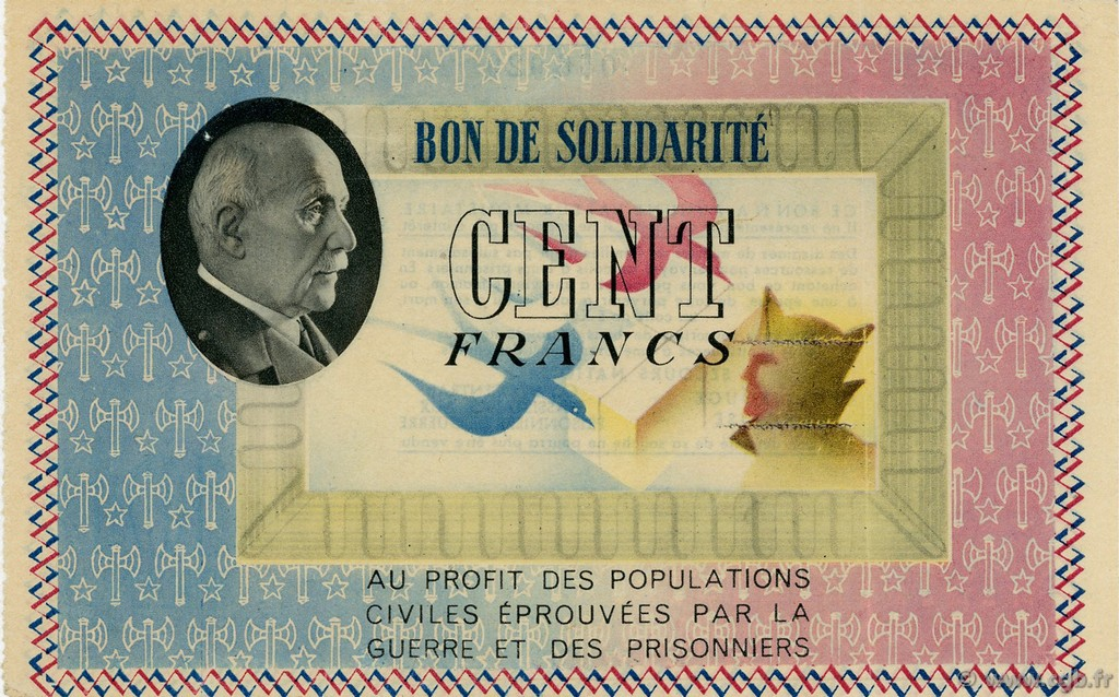 100 Francs FRANCE régionalisme et divers  1941  SUP