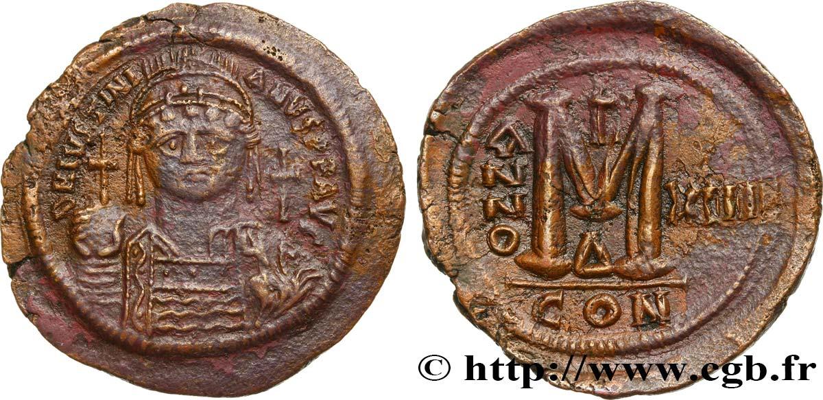 3975fdefdf GIUSTINIANO I Follis bby_493661 Monete Bizantine